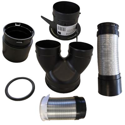 Kit accessoires Optiflex pour kit EasyHOME - ALDES 11091994 150x150px