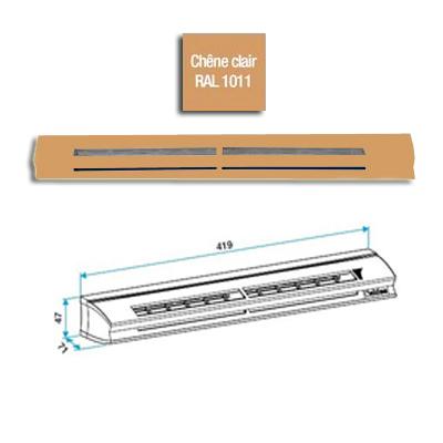 Entrée d'air hygroréglable EHL L 6-44, 39dB, Chêne clair - ALDES 11014129 150x150px