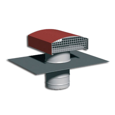 Chapeau de toiture métallique, CTM 250 tuile, ANJOS 6012 150x150px