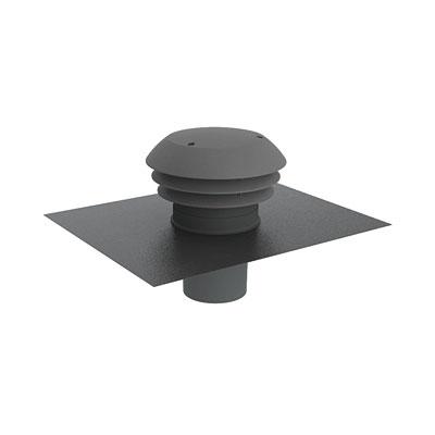 Chapeau de toiture plastique CARA 150 ardoise, ANJOS 6028 150x150px