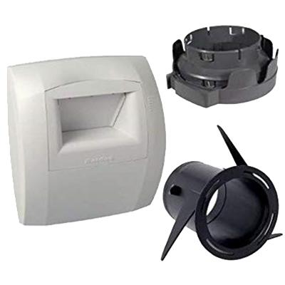 Kit bouche hygroréglable Bahia Curve, Salle de bain, ø80mm, 5-45m³/h, Aldes 11033663 150x150px