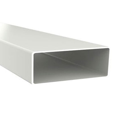 Unelvent   Conduit PVC rigide rectangulaire TPR 200 55 x 110 mm  15 m de long  - UNELVENT 833643 150x150px