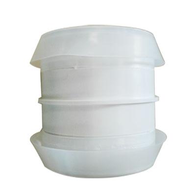 Unelvent - Conduits et accessoires PVC circulaires manchon raccord MRT 80 P  D 80 mm - UNELVENT 867682 150x150px