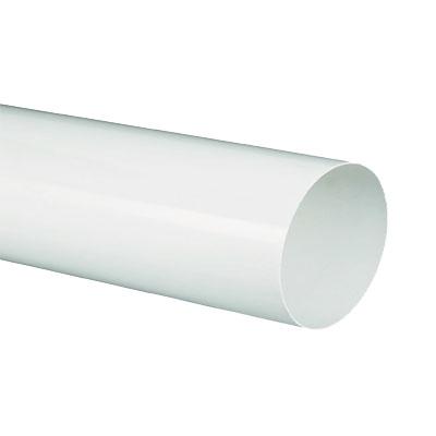 Unelvent   Conduits et accessoires PVC circulaires conduit TPC 200 lg 1 5 m D 100 mm - UNELVENT 833651 150x150px