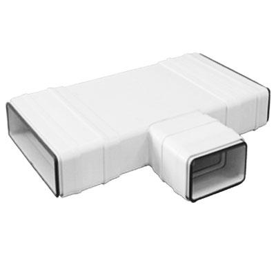 Unelvent - Conduit/accessoires PVC plats té 90° réducteur 300 en 200   TRP 300/200 55x220 - UNELVENT 832004 150x150px