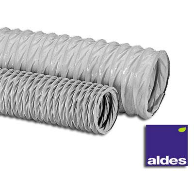 Algaine gaine PVC Ø 100 mm souple standard pour VMC toutes marques, longueur 10 m - ALDES  - ALDES 11091602 150x150px