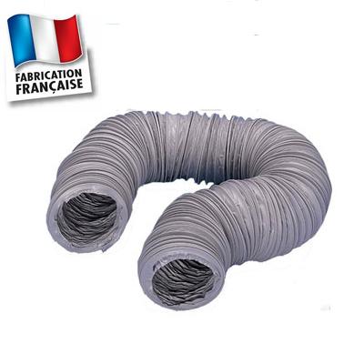 Gaine PVC souple standard pour VMC toutes marques, longueur 6 m, Ø 80 mm 150x150px