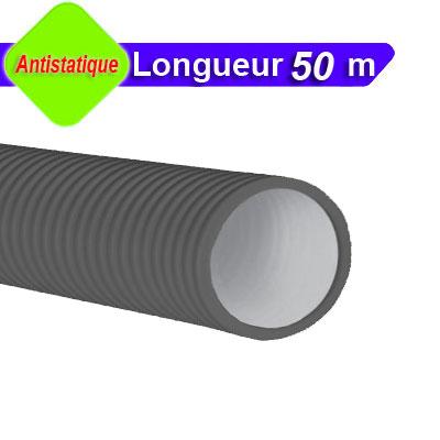 Conduit Optiflex Ø 75 circulaire, antistatique, longueur 50 m - ALDES 11091871 150x150px