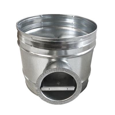 RG Ø200 Registre d equilibrage des reseaux de ventilation et climatisation Ø200mm matiere acier galvanise  - ALDES 11094443 150x150px