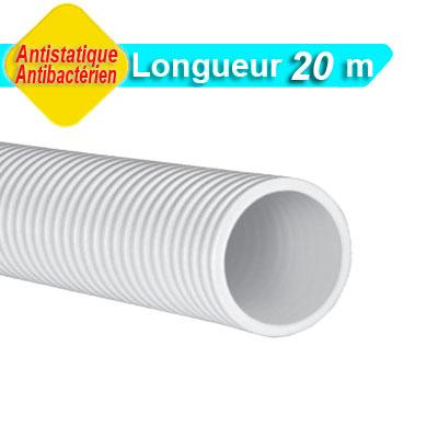 Conduit Optiflex Ø 90 circulaire, antistatique et antibactérien, longueur 20 m 150x150px