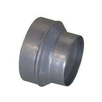 Réduction conique Galva mâle/mâle 125mm/80mm  - ALDES 11093502 150x150px