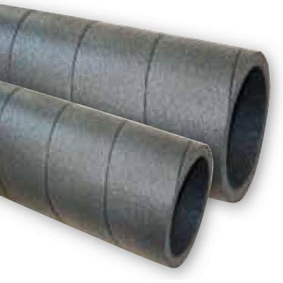 Unelvent - Conduit polyethylène isolé GPR ISO 80 barre de  2 x 1m livrée avec 1 raccord male Ø80 mm. 150x150px