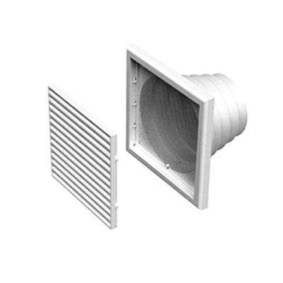 ALDES - grille de reprise ou rejet d'air en plastique GPA 186x186  - ALDES 11001503 150x150px