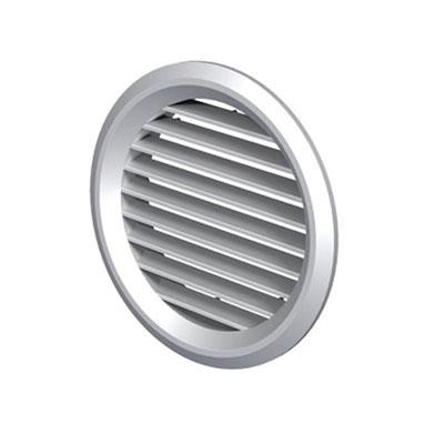 ALDES - grille de reprise ou rejet d'air en plastique GPA 160 Ø 125 mm - ALDES 11001505 150x150px