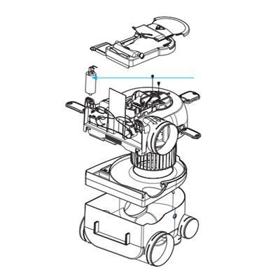 ALDES - Condensateur 1,9 mf pour groupe hygro Bahia  150x150px