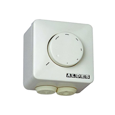 ALDES-Variateur de tension pour EasyVEC compact modèles  300, 600 et 1000. Permet de faire varier le débit d'air du ventilateur - ALDES 11086572 150x150px