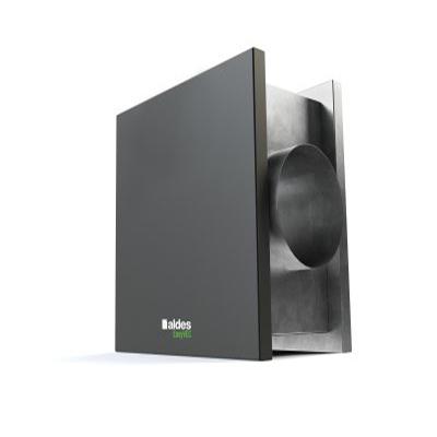 ALDES-Groupe VMC EasyVEC Compact 600. Débit d'air max 600 m3/h. Pour grande maison ou petits locaux tertiaires - ALDES 11034549 150x150px