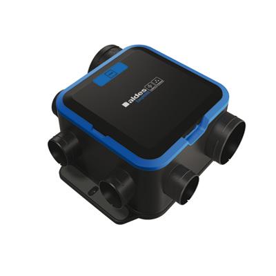 ALDES-Groupe EasyHOME HYGRO COMPACT PREMIUM MW , moteur basse consommation, pour bouches Bahia Curve hygrorèglables. - ALDES 11033050 150x150px