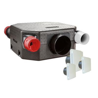 KIT DÉCO FLAT DHU VMC à sondes hygrometriques reglables garantie 5 ans - UNELVENT 603126 150x150px