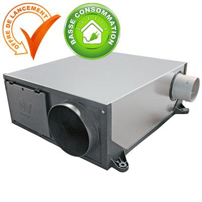 VORTICE-Groupe seul extra-plat PLATT ES Hygro, permet de raccorder jusqu'à 3 sanitaires et 1 cuisine. 150x150px