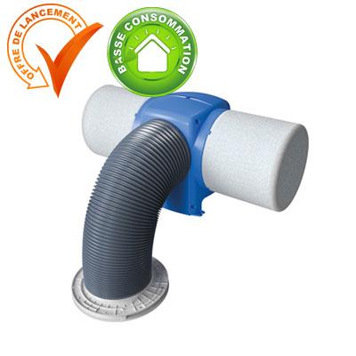 VORTICE DRIMASTER Kit de ventilation positive par insufflation  Moteur basse consommation  150x150px