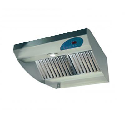 Hotte en inox semi professionnelle KARA 600 MTC, 600 mm, avec commande Digital - UNELVENT 220352 150x150px