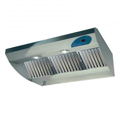 Hotte en inox semi professionnelle KARA 900 MTC, 900 mm, avec commande Digital - UNELVENT 220301 150x150px