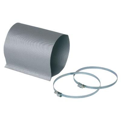 Kit manchette souple de refoulement en matière M0, Ø400 + 2 colliers de serrage - ALDES 11025067 150x150px