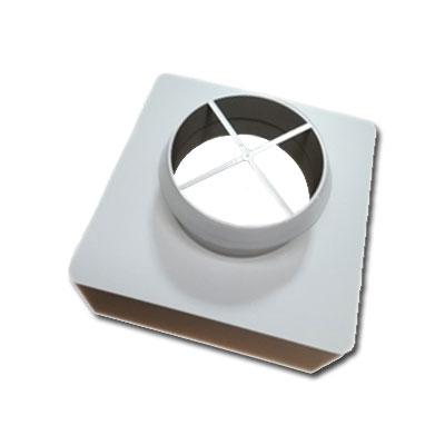 Unelvent 890025 caisson de répartition Akor 1 piquage Ø 150mm - UNELVENT 890025 150x150px