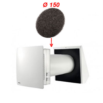 Aldes - 2 filtres pollens pour Nano Air 50 - ALDES 11023297 150x150px