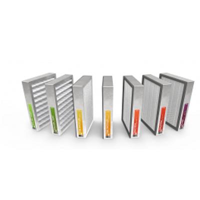 ALDES-lot de 2 filtres F7 pour centrales DFE+2000 ou DFE+TOP 2000 , filtres pour particules fines. Dimensions filtres (mm) 370x503x50. 150x150px