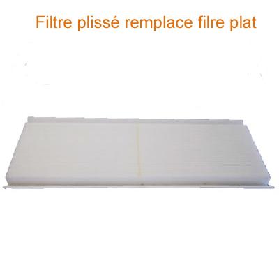 UNELVENT-Filtre F4  air extrait  pour centrale double flux AKOR HR. remplace ancienne génération filtres compatible avec toutes les centrales AKOR HR. - UNELVENT 970034 150x150px
