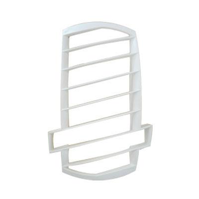 ALDES- Grille de façade blanche pour bouche BAP COLOR . 150x150px