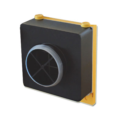 UNELVENT-Face air neuf AKOR T3/7 Pièce détachée pour VMC double flux AKOR T3/7 .Vendue sans clip bouchon - UNELVENT 166425 150x150px