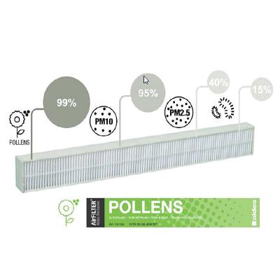 ALDES-Filtre pollens pour entrée d'air airFILTER. - ALDES 11011584 150x150px