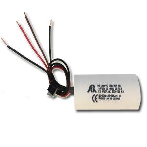 Condensateur 4 fils 3,5/2µF 250 V pour VMC double flux AKOR T3/7 - UNELVENT 166396 150x150px
