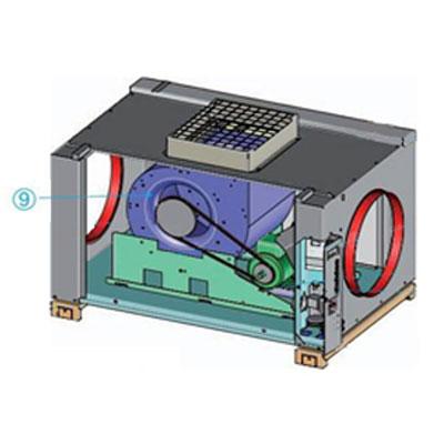 Aldes 11059114 Sous ensemble ventilateur pour Inovec 3000 - ALDES 11059114 150x150px