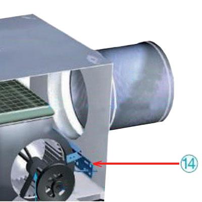 Kit de montage 2ÈME moteur VEC 271 - ALDES 11025032 150x150px