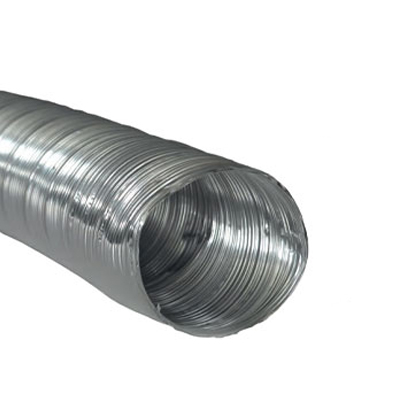 Conduit ⌀150 long 3m alu compacté semi-rigide  150x150px