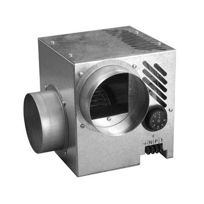 NATHER-Récupérateur de chaleur DIFUSAIR D520 Ø de raccordement 125 mm s'utilise sur cheminées à foyer fermé. raccordement possible 3 à 5 bouches de soufflage.  150x150px
