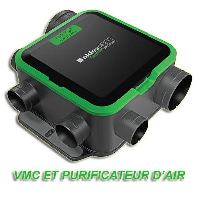 ALDES-Groupe seul EasyHome PureAir COMPACT classic extra_plat. Fonction ventilation et purification d'air,installation multi-positions. - ALDES 11033057 150x150px