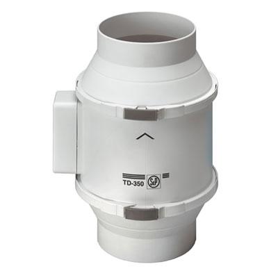 Unelvent - Extracteurs en ligne sur conduits TD 350/125 150x150px