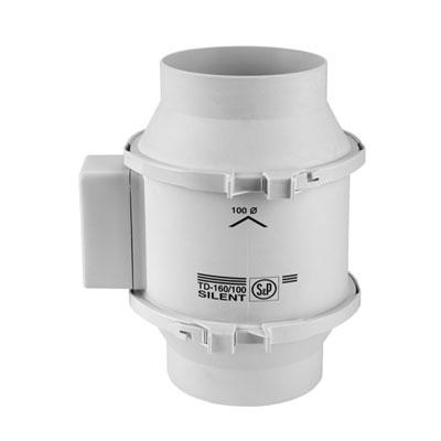 Moteur de ventilation MIXVENT TD 160/100 ECOWATT Unelvent basse consommation pour hotte de cuisine non motorisée - Garantie 5 ans 150x150px