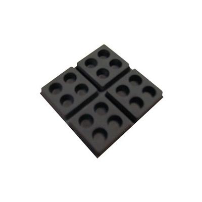 Unelvent - Plots en elastomère choc isol  150x150px