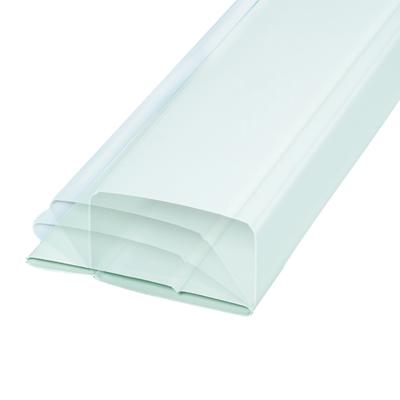 Unelvent - Conduit PVC pliant extra-plat TPL 200. 1,5 m de long. 55 x 110 mm - UNELVENT 832003 150x150px