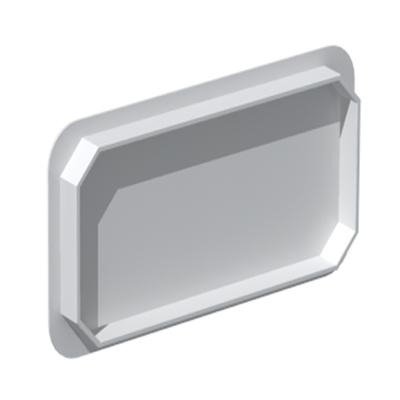 Unelvent - Conduit/accessoires PVC plats bouchon plat BFR 200  55x110 - UNELVENT 834137 150x150px
