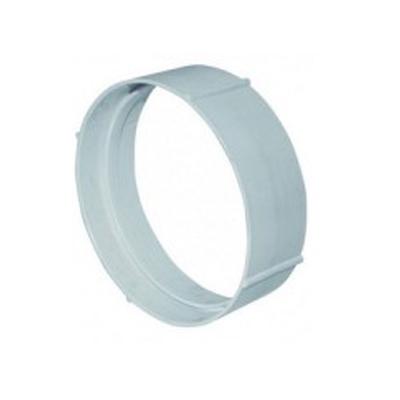 Unelvent - Conduits et accessoires PVC circulaires manchon raccord MCC 200  D 100 mm - UNELVENT MP100;833653 150x150px