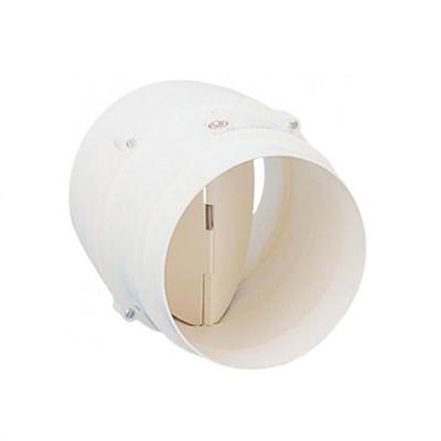 Unelvent - Conduits et accessoires PVC circulaires clapet anti-retour CM130  - UNELVENT 860092 150x150px