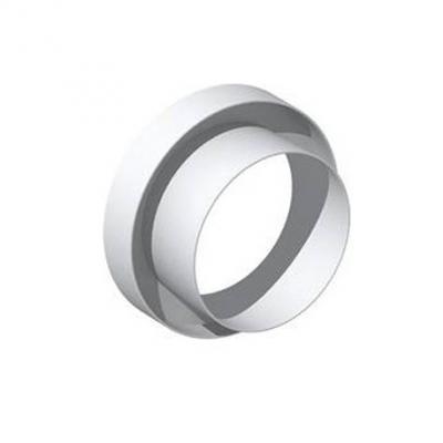 Unelvent - Conduits et accessoires PVC circulaires Réduction plate plate RP 100/80  - UNELVENT 833160 150x150px