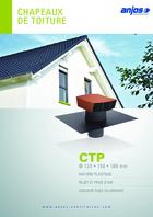 Chapeau de toiture plastique CTP